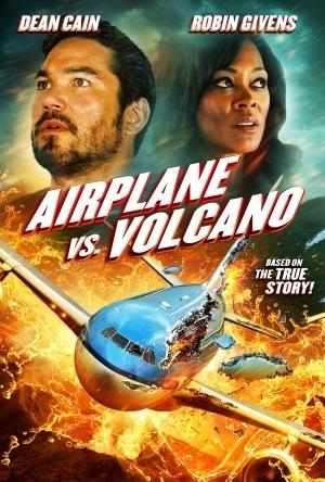 飞机和火山